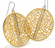 Brighton Fiji Sparkle Gold Earrings (JA6725)