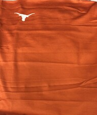Texas Longhorn Burnt Orange Neck Gaiter (GAITER-SOLID)
