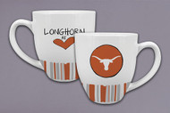 Texas Longhorn Heart Stripe Mug (22555)