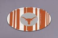 "Texas Longhorn 12"" Oval Platter (22543)"