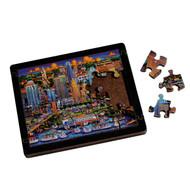 Austin Wooden 20 Piece Pocket Puzzle (AUSTINMINIPUZZLE)