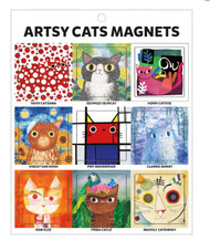 Artsy Cat Magnets