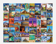 Travel Theme Puzzles (Multiple Styles)