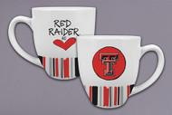 Texas Tech Striped Mug (24755)