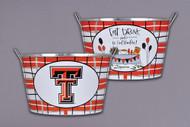 Texas Tech Metal Bucket (74710)