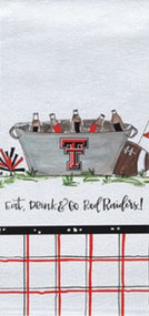 Texas Tech Eat, Drink & Go Red Raiders Towel (74708)