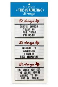 El Arroyo Magnet Set (3 Styles) (MAGNETSET)