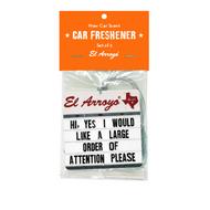 El Arroyo Car Air Freshener (CARFRESHENER)