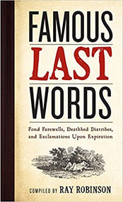 Famous Last Words-Book