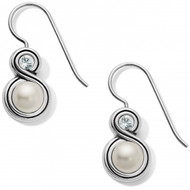 Brighton Infinity Pearl French Wire Earrings (JA6293)