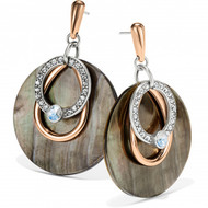 Brighton Neptune's Rings Shell Post Drop Earrings (JA6693)