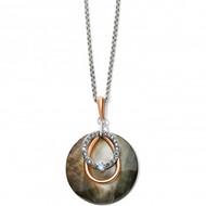 Brighton Neptune's Rings Shell Short Necklace (JM3013)