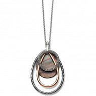 Brighton Neptune's Rings Shell Convertible Necklace (JM3023)