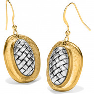Brighton Ferrara Artisan Two Tone French Wire Earrings (JA6912)