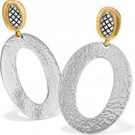 Brighton Ferrara Artisan Two Tone Drop Earrings (JA6902)