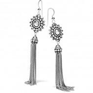 Brighton Telluride Sunburst Tassel French Wire Earrings (JA6740)