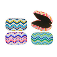 Chevron Striped Travel Case (Color Chosen at Random) (KIK OR107)