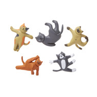 Cat Yoga Magnets (KIK MG89)