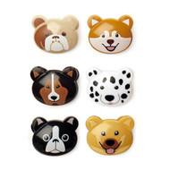Doggie Bag Clips (Set of 6) (KIK BC43)