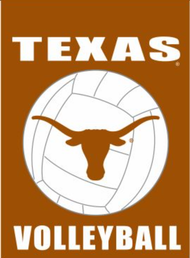 Texas Longhorn Volleyball Garden Flag (013131868V)