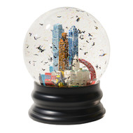 NEW 2021 Austin Snow Globe Featuring the Jenga (Sue Patrick Exclusive-Limited Edition)