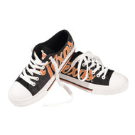 Texas Longhorn Soft Glitter Canvas Sneakers (SNWMNCCGLT)