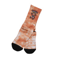 Texas Longhorn Acid Washed Howdy Hook 'em Crew Socks (DSFB28)