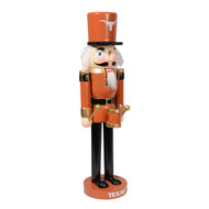 Texas Longhorn Wooden Nutcracker (NUT14NC19HOLTX)