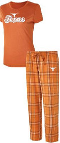 Texas Longhorn Ladies Ethos Sleep Set (JCH-T1050C18)