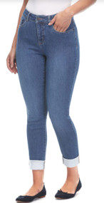 French Dressing Olivia Cuffed Slim Leg