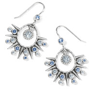 Brighton Halo Ice French Wire Earrings (JA7053)
