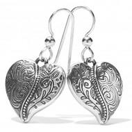 Brighton Ornate Heart French Wire Earrings (JA7170)