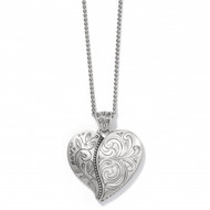 Brighton Ornate Heart Convertible Necklace (JM3690)