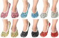 Snoozies Classic Bling Slippers (6 Colors)(179-BLING)