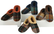 Snoozies Mens' Plaid Bold Slippers (4 Colors) (MBP)