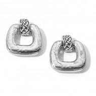 Brighton Interlok Woven Post Drop Earrings (JA7040)
