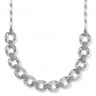 Brighton Interlok Woven Collar Necklace (JM3490)