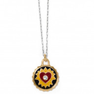 Brighton Simply Charming Passion Heart Necklace (JM38933)