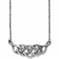 Brighton Interlok Braid Collar Necklace (JM2240)