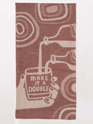 Blue Q Make It A Double Woven Towel (WW613)