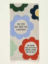Blue Q Coaster Screen Print Kitchen Towel (WW344)