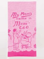 Blue Q My Mom's Name...Woven Kitchen Towel (WW612)