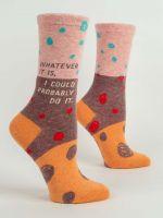 Blue Q Whatever It Is...Ladies Crew Socks (SW531)