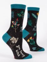 Blue Q You Fancy...Ladies Crew Socks (SW491)