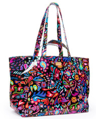 Consuela Black Sophie Jumbo Grab & Go Bag (7690)
