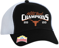 Texas Longhorn Alamo Bowl Champions Official On Field Embroidered Cap- AVAILABLE IN STORE NOW