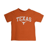 Texas Longnhorn Toddler Texas Arch Tee (TEXASARCH-TODDLER)