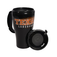 Texas Longhorn 16oz Plastic Travel Mug (24594)