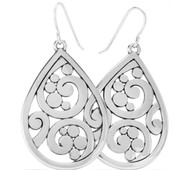 Brighton Contempo Teardrop French Wire Earrings (JA7300)