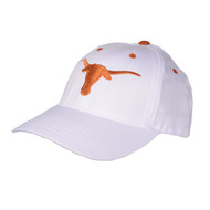 Texas Longhorn Logo on White Cap (LOGOCAP-WHITE)